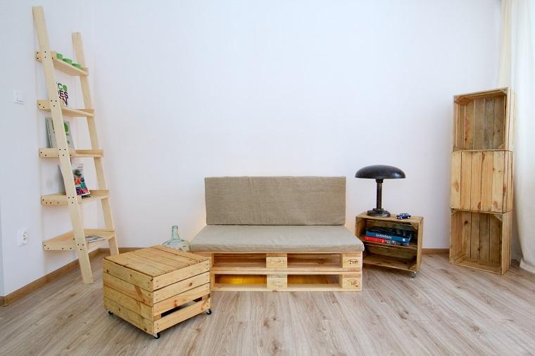 Pallet idee economiche fai da te per arredare la casa for Idee arredamento soggiorno fai da te