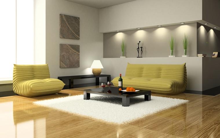 Arredamento soggiorno in stile moderno: mobili e decorazioni di ...