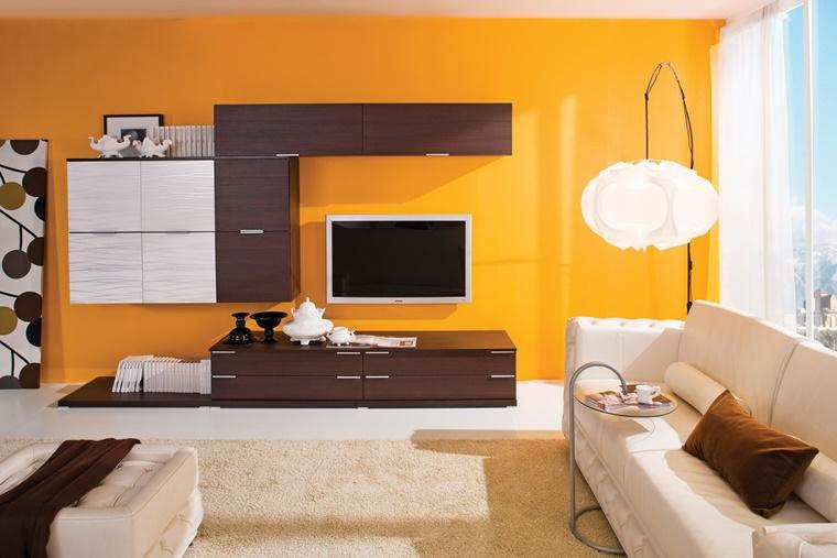 Arredamento soggiorno in stile moderno mobili e for Arredamento soggiorno moderno in legno