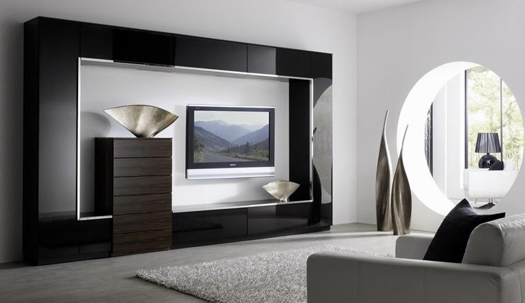 arredamento soggiorno in stile moderno mobili e