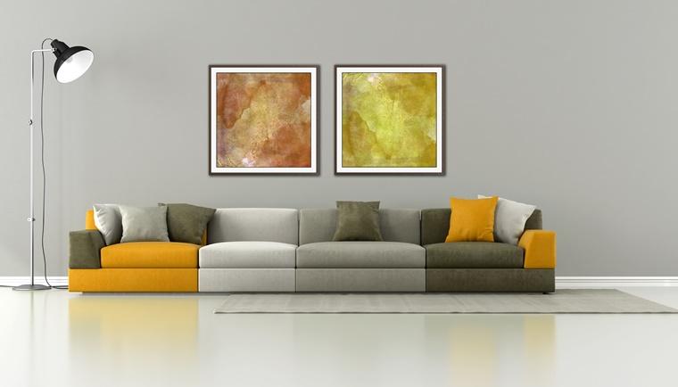 Arredamento soggiorno in stile moderno mobili e for Arredamento colorato