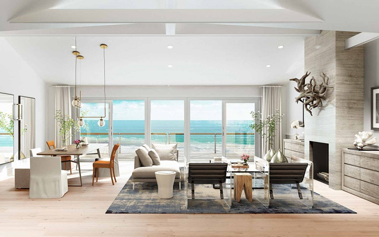 Arredamento soggiorno in stile moderno mobili e for Oggetti di arredamento moderno