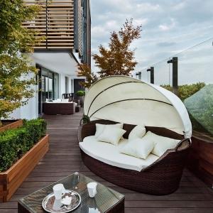 1001 idee per arredare il balcone piccolo con accenti di for Mobili per il terrazzo