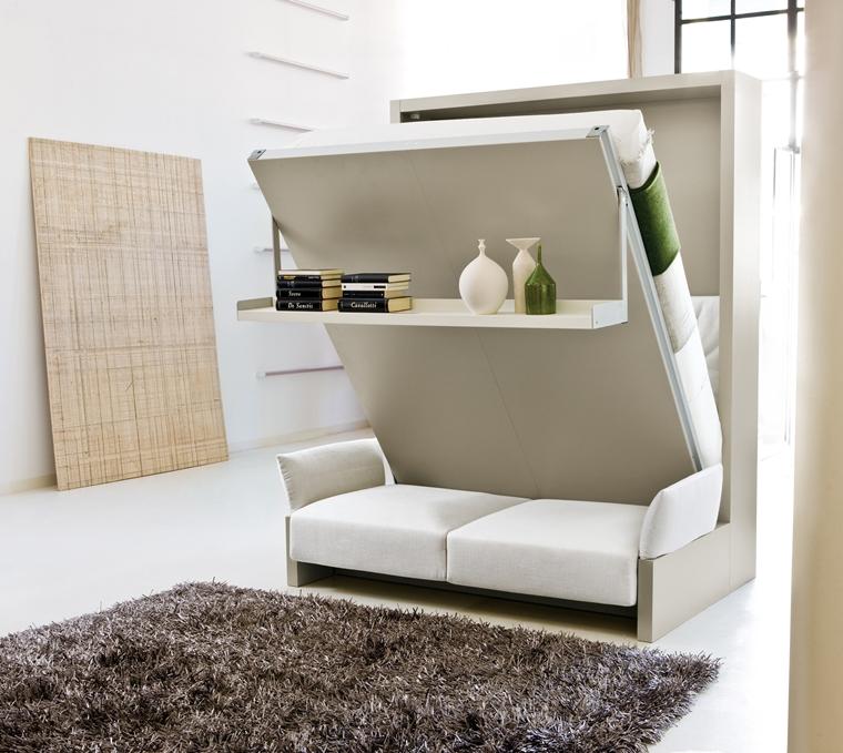 Arredo camera da letto moderna - idee salvaspazio e consigli ...