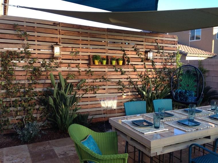 Arredo esterno in pallet e altre proposte interessanti per for Arredo giardino esterno