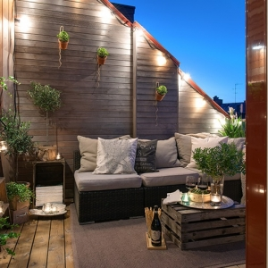 arredo terrazzo per un effetto moderno ed elegante - archzine.it - Arredamento Terrazzo Esterno