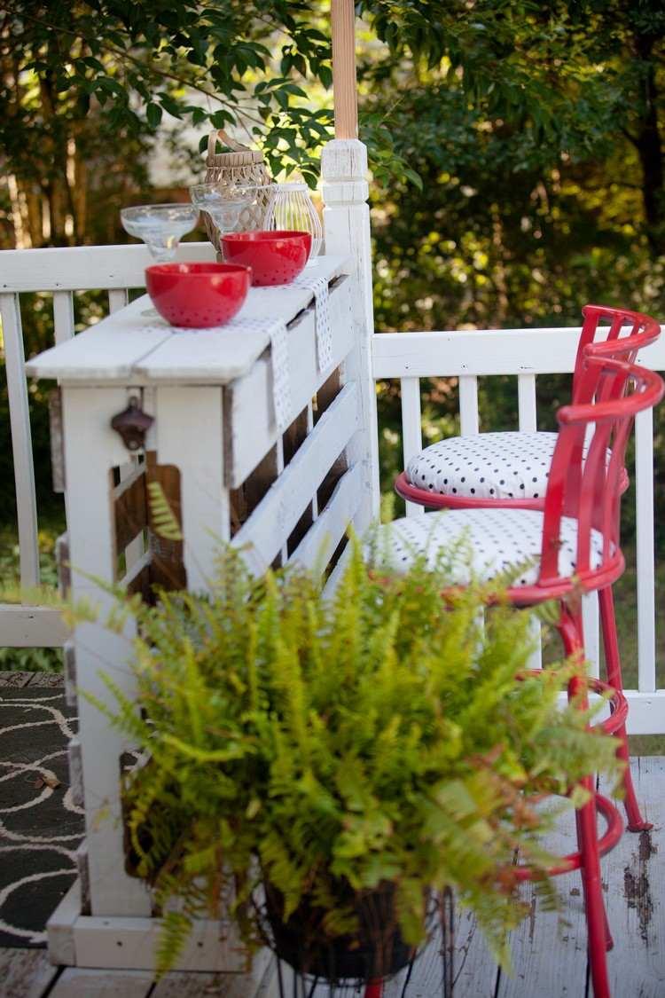 Bar Arredati Con Pallet arredo giardino con angolo bar fai da te in bancali riciclati