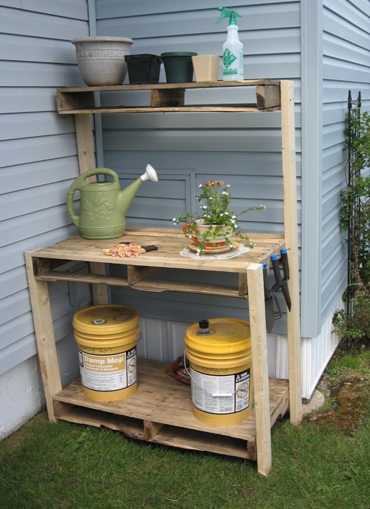 Arredo pallet soluzione a costo zero per decorare e for Pallet arredo giardino