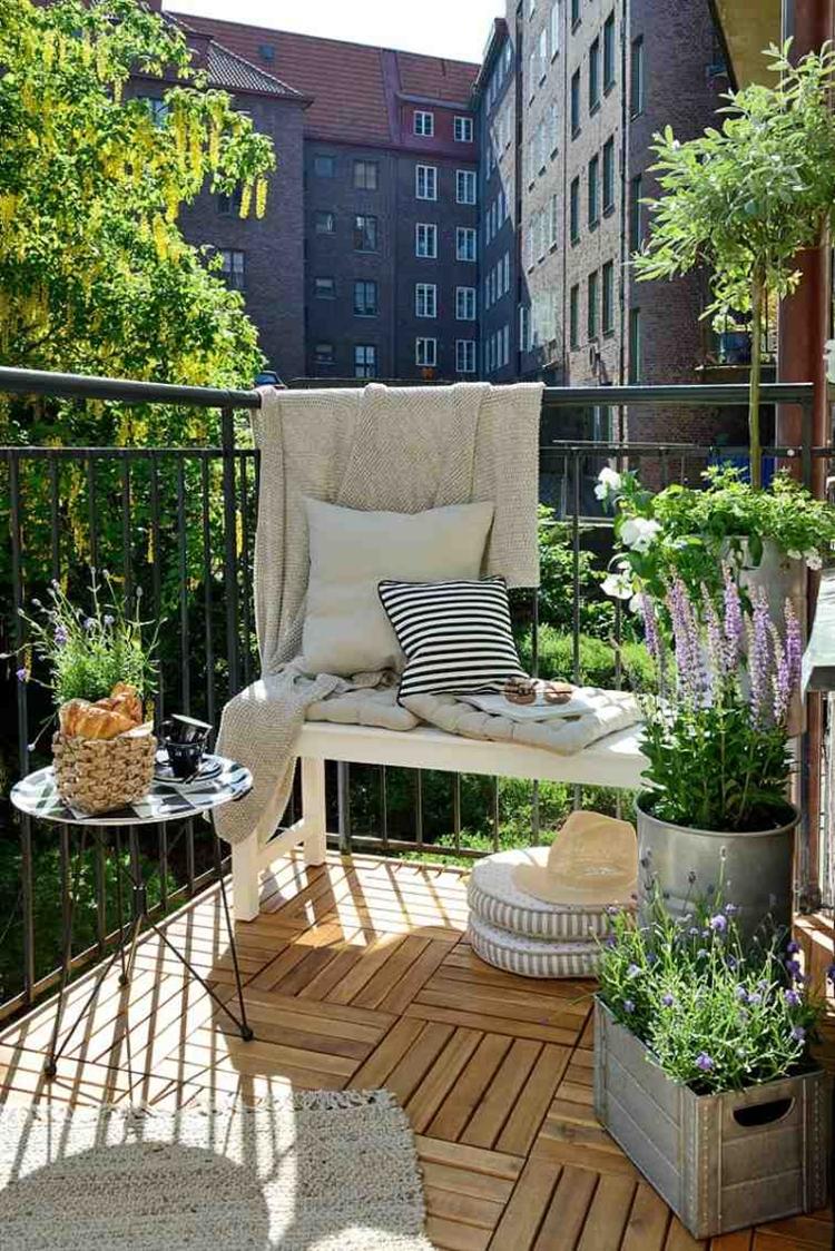 balconi fioriere alluminio pavimento parquet