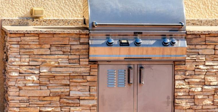 Come costruire barbecue in muratura, barbecue in acciao inox in muratura