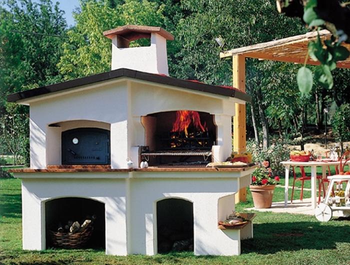 Barbecue in muratura: progetto e costruzione fai da te - Archzine.it