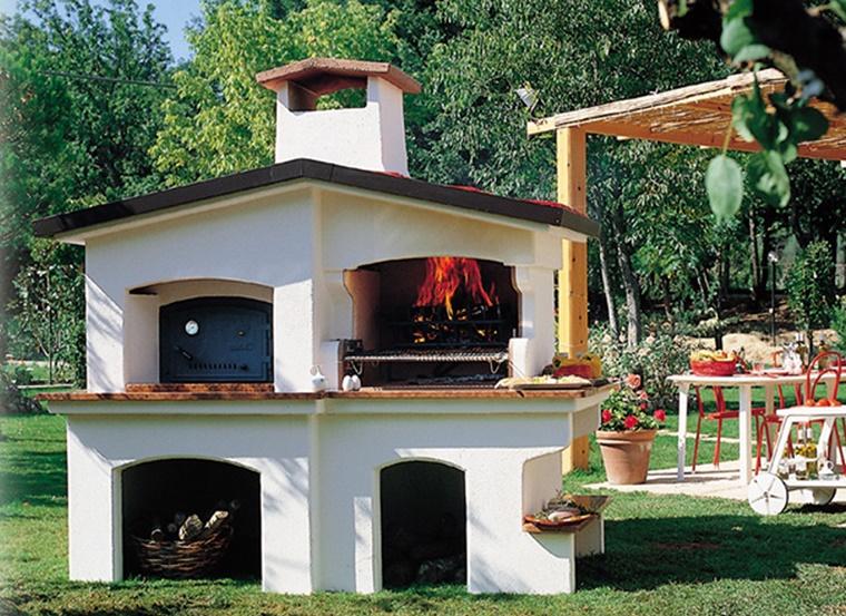 Barbecue in muratura progetto e costruzione fai da te - Barbecue da esterno ...