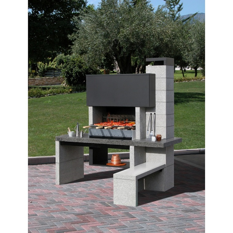 barbecue in muratura progetto e costruzione fai da te. Black Bedroom Furniture Sets. Home Design Ideas