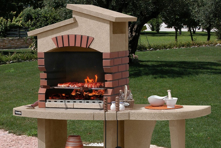 barbecue in muratura freestanding idea