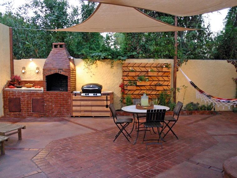 barbecue in muratura idea cucina esterna