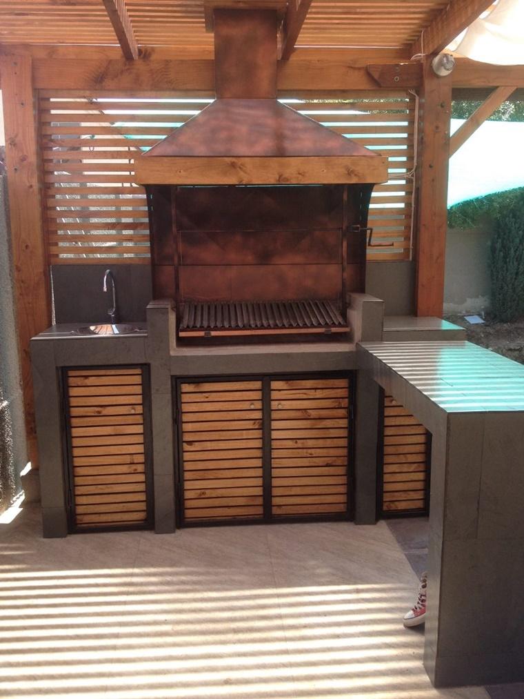 Barbecue in muratura progetto e costruzione fai da te for Casa in stile santa fe