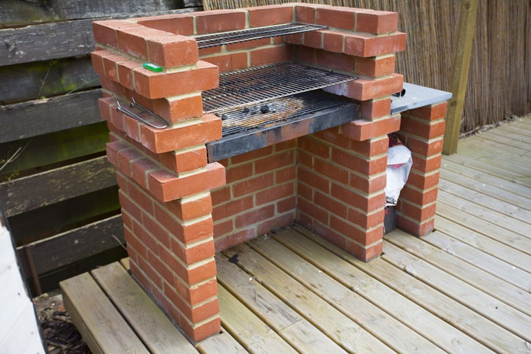 barbecue semplice vostre serate giardino
