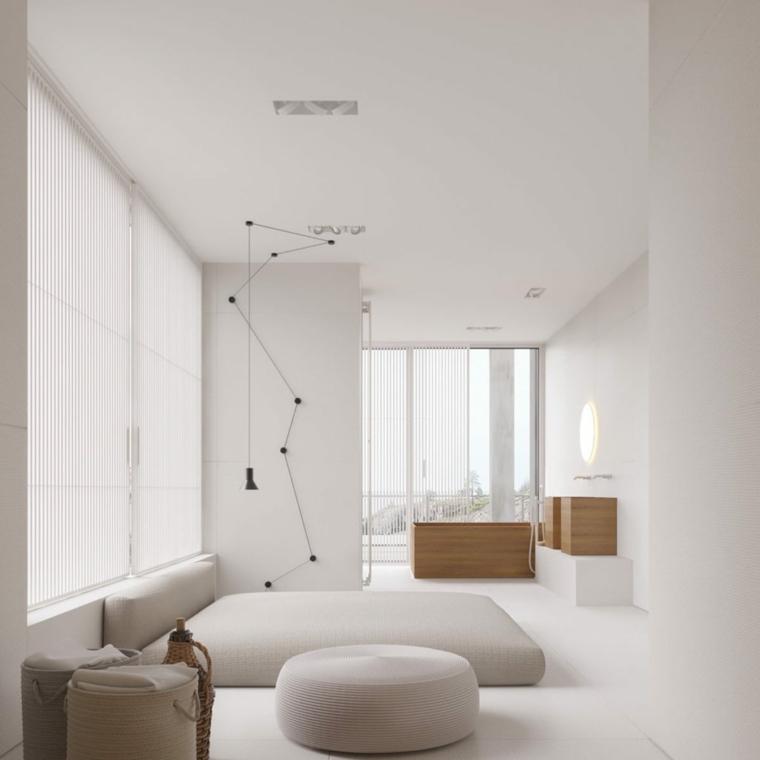 camera da letto 12 mq come arredare poltrona mobili legno illuminazione lampade