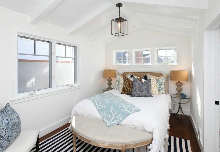 camera da letto piccola decorazioni arredamento