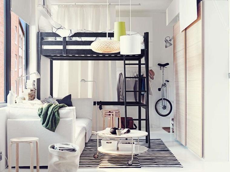 Soppalco Camera Da Letto Moderno : Arredo camera da letto moderna idee salvaspazio e consigli pratici