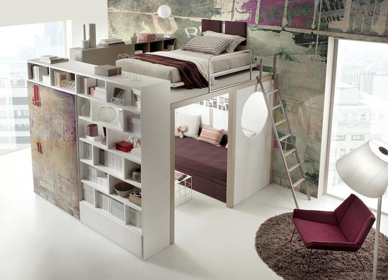 Idee Salvaspazio Camera Da Letto : Arredo camera da letto moderna idee salvaspazio e consigli pratici