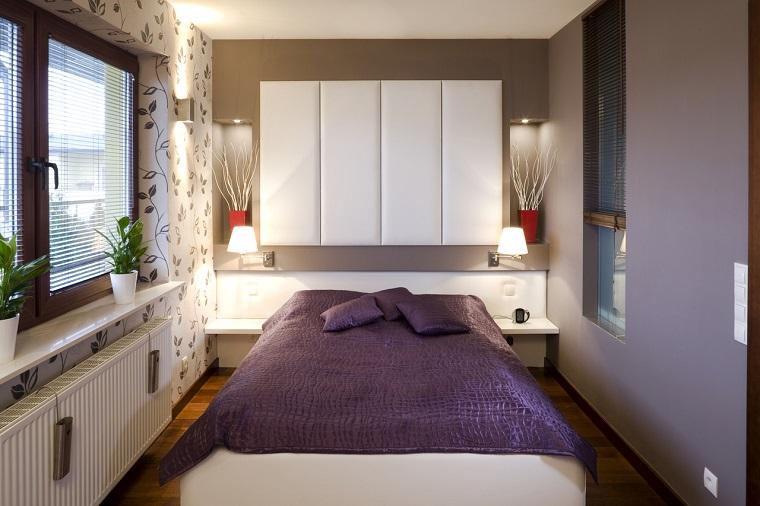 camera letto idea spazio piccolo