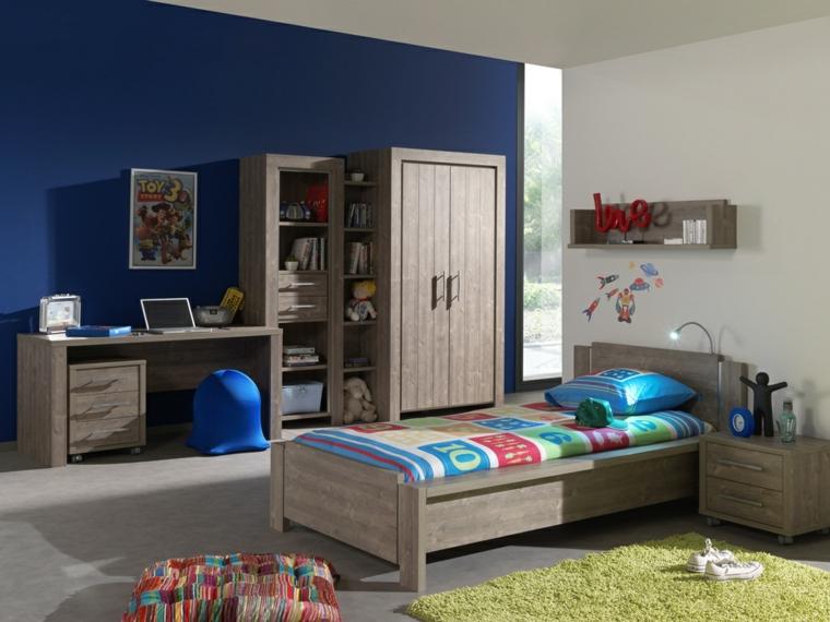 camera per ragazzi mobili legno