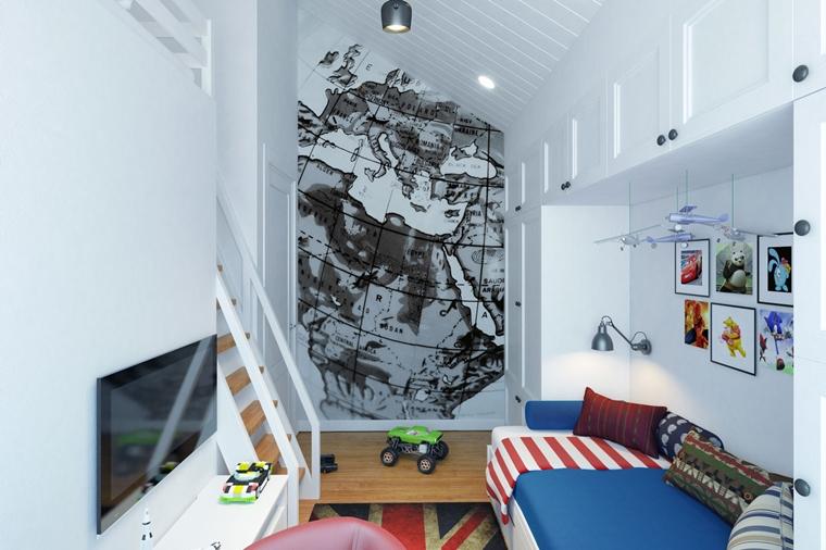 Camere Ragazzi Di Design Moderno Idee Creative Da Copiare
