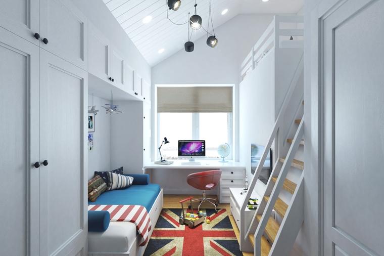 Camere ragazzi di design moderno idee creative da copiare for Camere da letto piccole