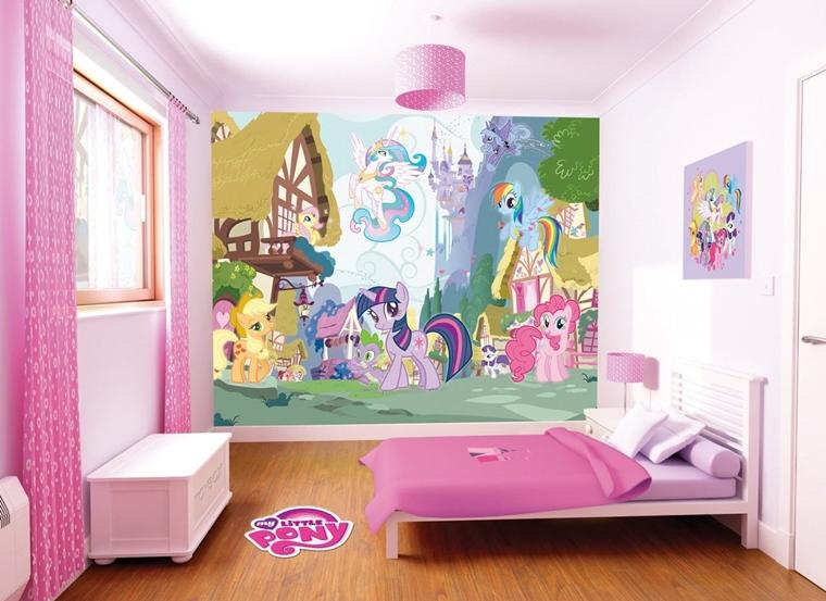 Carta Da Parati Per Armadi Bambini : Cameretta bambini: colori pareti decorazioni e design moderno