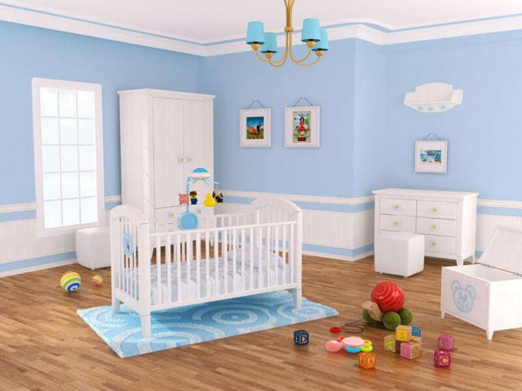 Colori Cameretta Bebè : Cameretta neonato ecco alcune idee per arredare uno spazio