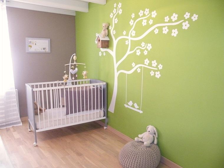 Decorare Pareti Cameretta Bambini : Decorazioni pareti camerette neonati simple walplus adesivi