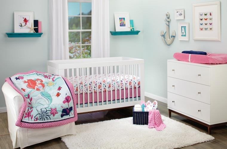 Idee Per Arredare Cameretta Neonato : Cameretta neonato ecco alcune idee per arredare uno spazio