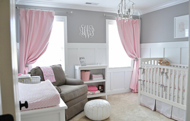 Camerette Per Neonati Rosa : Cameretta neonato ecco alcune idee per arredare uno spazio