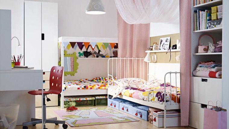 camerette bambini arredate mobili salvaspazio