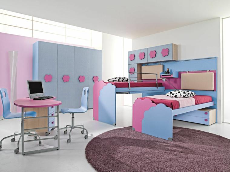 camerette bambini decorate arredate design moderno