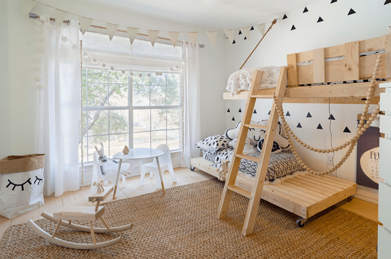 Mobili Per Bambini In Legno : Camerette per bambini in legno cameretta dei bambini u idee
