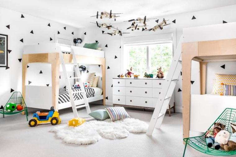 Produttori Di Camerette Per Bambini.Stanzette Per Ragazzi 42 Idee Creative Per Arredamento Moderno
