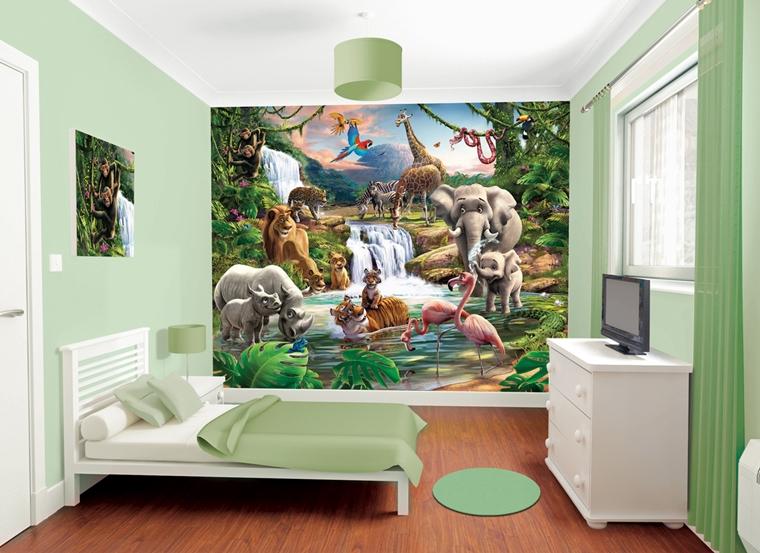 Decorare Pareti Cameretta Bambini : Cameretta bambini colori pareti decorazioni e design moderno
