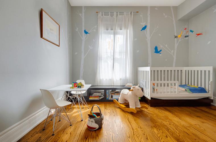 Idee Per Arredare Cameretta Neonato : Camerette bambini idee di arredamento per ogni fascia d età