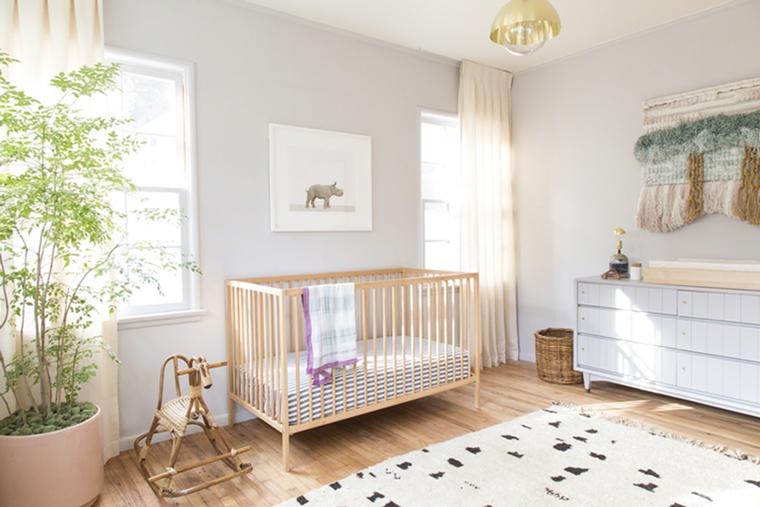 Colori Cameretta Bebè : Cameretta neonati soluzioni di arredamento moderno