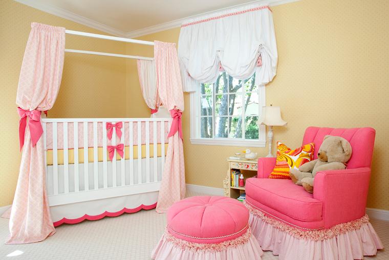 Camerette Per Neonati Rosa : Camerette neonati tante idee dolci e romantiche per le femminucce