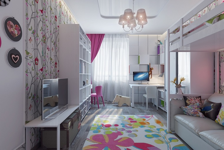 Camerette piccole e grandi idee per arredare e decorare ...