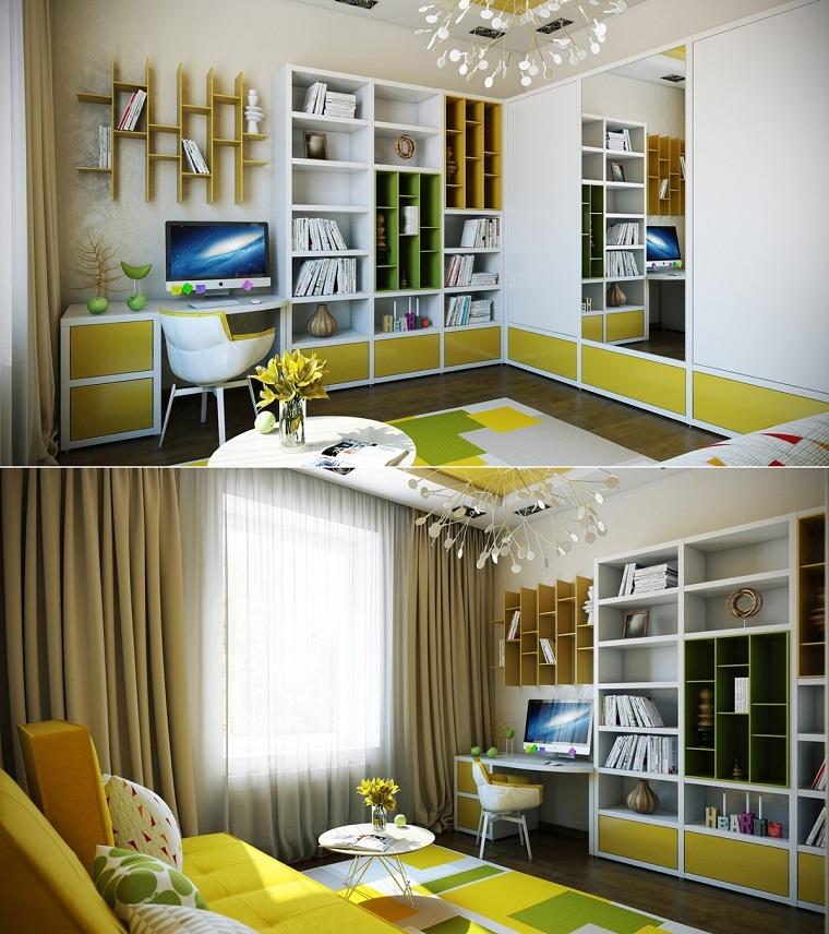 Camerette piccole e grandi idee per arredare e decorare for Soluzioni camerette piccole