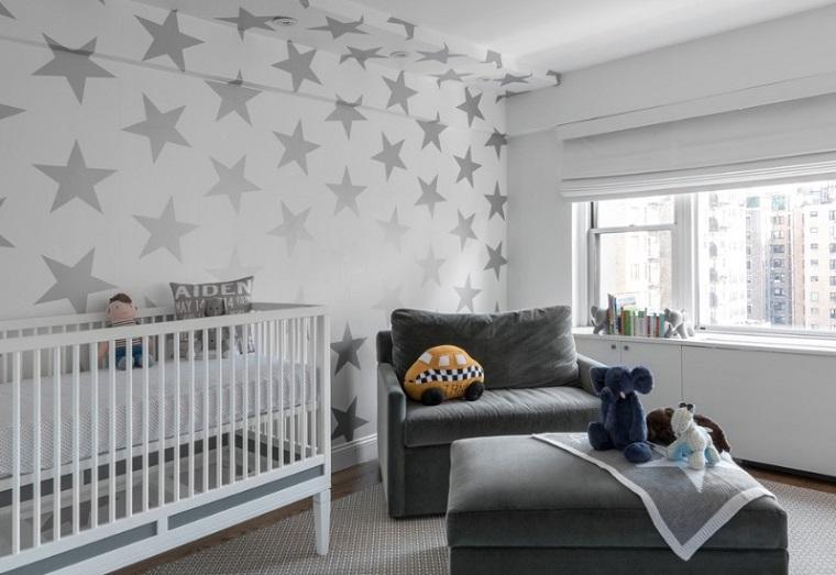 Camerette per neonati tante idee per la decorazione for Decori per camerette neonati