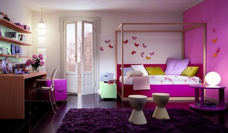 Camere Da Letto Per Ragazze Da Sogno : Camerette per ragazze tante idee per arredarle con stili