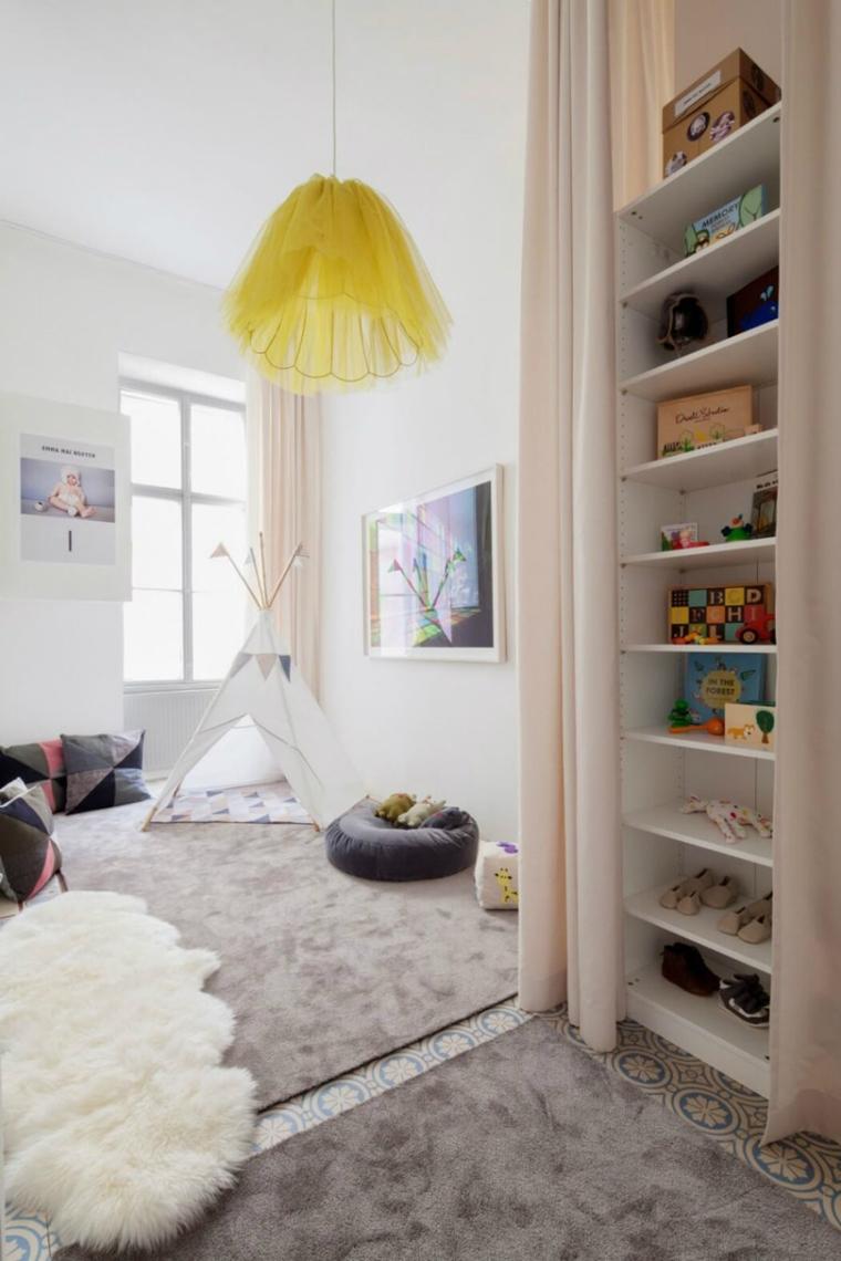 Lampadari Per Stanza Ragazzi stanzette per ragazzi : 42 idee creative per arredamento moderno