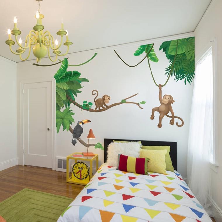 Stanzette per ragazzi 42 idee creative per arredamento for Sono pour chambre