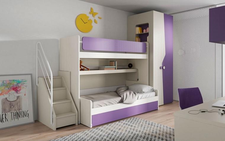 Stanzette per ragazzi 42 idee creative per arredamento - Camerette per bambini soluzioni salvaspazio ...