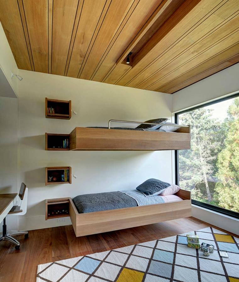 Camerette Ragazzi In Legno.Stanzette Per Ragazzi 42 Idee Creative Per Arredamento Moderno